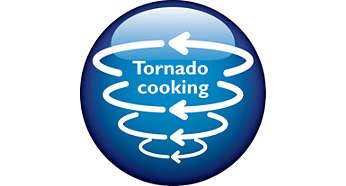 """""""การทำอาหารทอร์นาโด"""" จะช่วยเร่งเวลาในการทำอาหารให้เหลือแค่ 25 นาที"""