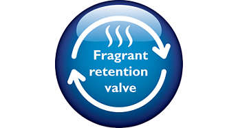 Fragrant Retention Valve to lock original tasty Rice