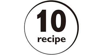 โปรแกรมอเนกประสงค์ 10 อย่างสำหรับอาหารที่หลากหลาย