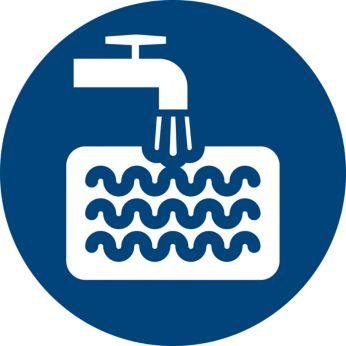 Plaunamas putų filtras, ilgai naudojamas