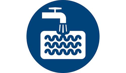 Wasbaar, uiterst duurzaam schuimrubber filter
