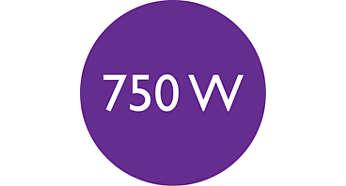 750W 功率讓您打理美麗髮型