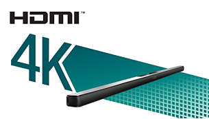 HDMI 4K2K pass-through for ultra HD content enjoyment