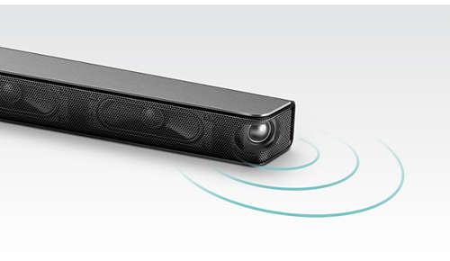 Nauwkeurige plaatsing van drivers voor een groter geluidseffect