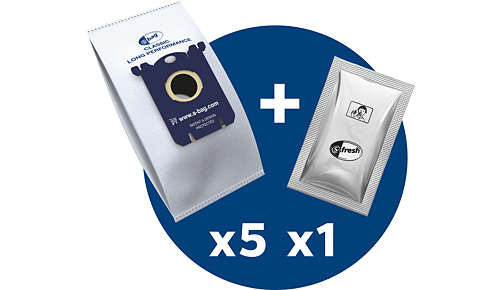 5 s-bags en 1 s-fresh (geurkorrels)