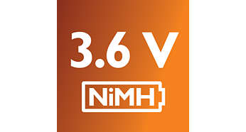 NiMh battery for daily power usage