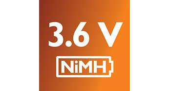 Batterie NiMh pour une utilisation quotidienne