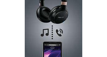 Contrôle de la musique et des appels téléphoniques sans fil