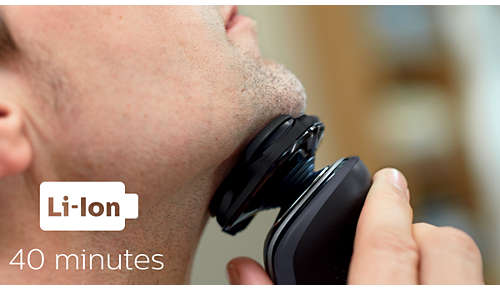 40 de minute de bărbierit fără fir