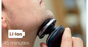 45 minutter med trådløs barbering