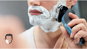 Med AquaTec kan du antingen få en bekväm torrakning eller en uppfriskande våtrakning