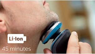 45 minuti di rasatura senza filo