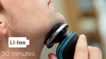 50 minutit juhtmeta raseerimist