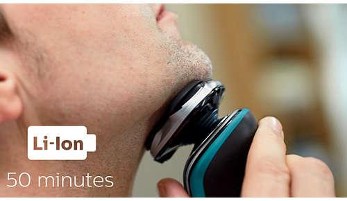 50minut bezdrátového holení