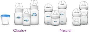 Compatible with Philips Avent bottles and containers