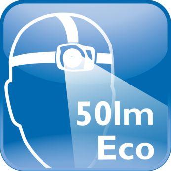 Светодиодный свет 50лм в режиме Eco для проведения быстрого осмотра