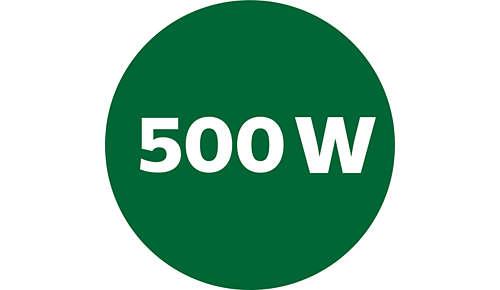 Krachtige 500 W-motor