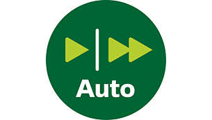 Automatische snelheidsselectie
