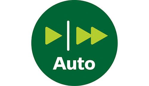 Réglage automatique de la vitesse