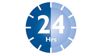 Sterilus iki 24 val., jei dangtelis lieka neatidarytas