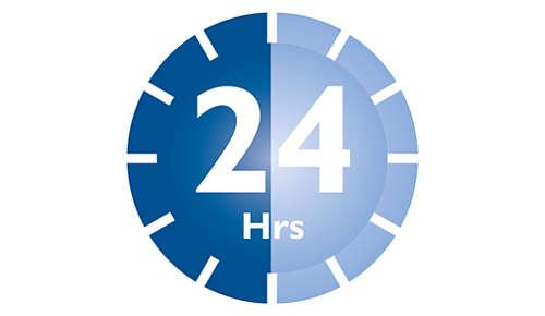 Amennyiben a fedelet nem nyitja fel, akár 24 óráig is steril marad