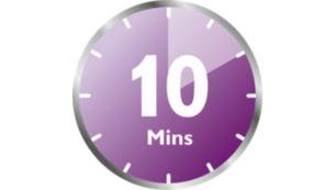 دورة سريعة ووظيفة إيقاف تشغيل تلقائي