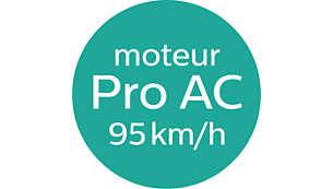 DryCare Pro raggiunge un flusso d'aria di 95 km/h