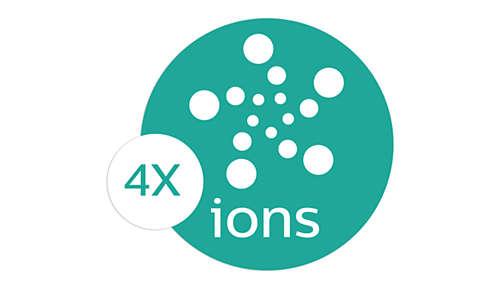 4fois plus d'ions pour encore plus de brillance