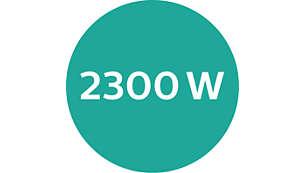 Motor de CC y potencia de 2300W