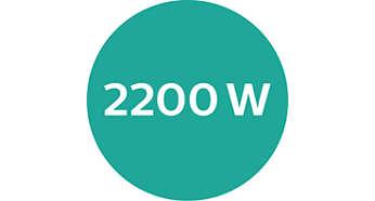 Moteur DC et 2200W de puissance
