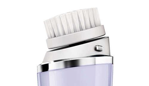 10 razy lepsze oczyszczanie — czysta i gładka cera