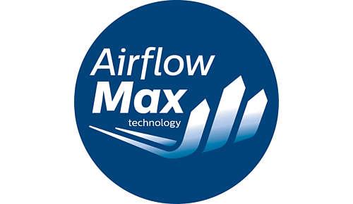 Rewolucyjna technologia AirflowMax zapewnia dużą moc ssania