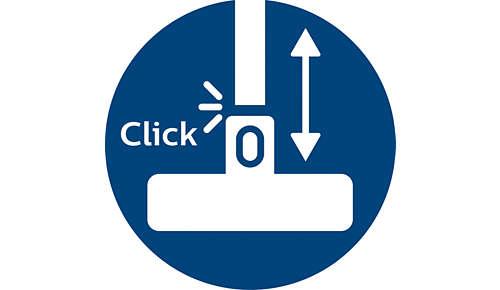ActiveLock-Kupplung für einfache Anpassung an jeden Reinigungsvorgang
