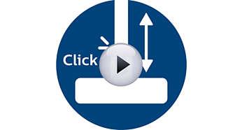 Συνδέσεις ActiveLock για εύκολη προσαρμογή σε κάθε εργασία καθαρισμού