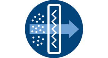 Фильтр Super Clean Air удерживает >99% частиц