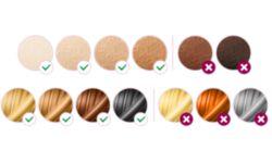 Подходит для разных типов волос и кожи