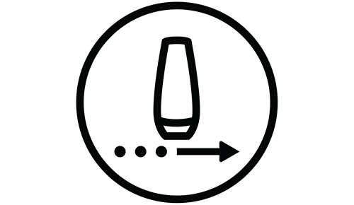 Glij- en flitsmodus voor een gemakkelijker gebruik