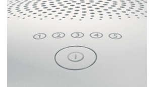5 种可调节的光能设置