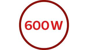 Motor de 600 W para un procesado potente