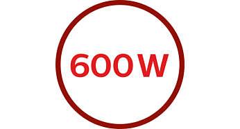 Motor de 600 W para processamento potente