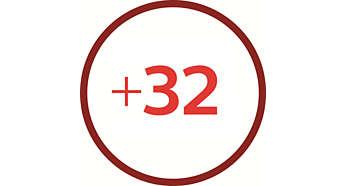 32 funções