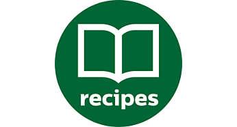 В комплект входит книга рецептов с оригинальными идеями