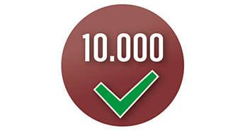 Gerät wird mehr als 10.000 Mal geprüft, um gleichbleibende Qualität sicherzustellen