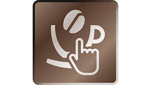 Различные кофейные напитки одним нажатием кнопки