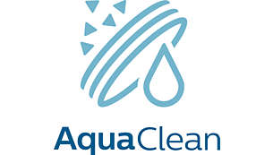 Up to 5000 cups* without descaling with AquaClean filter