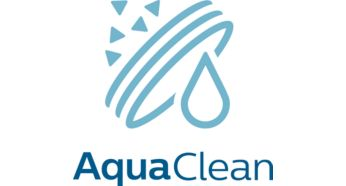 Jusqu'à 5000 tasses* sans détartrage grâce au filtre AquaClean