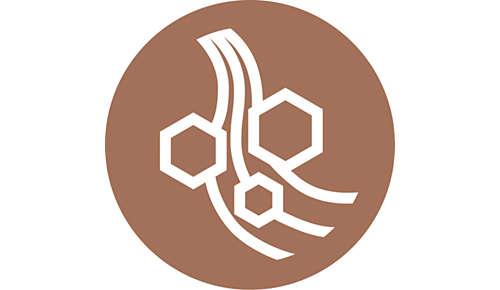 Ochranný keramický povrch napuštěný keratinem