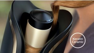 Philips Auto Curler Protective ceramic coating with keratin infusion