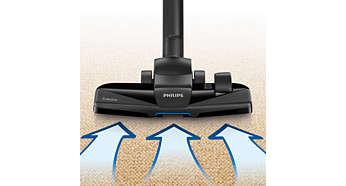 Nová hubica TriActive typu 3 v1 odstráni hrubý aj jemný prach