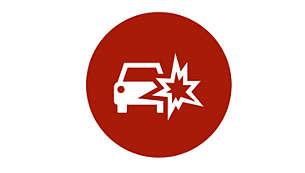 碰撞检测和紧急情况自动录制